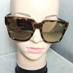 Quay Australia On the Prowl 55mm Square Sunglasses
